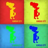 KansasCity Pop Art Map 1 Fine-Art Print