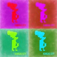 KansasCity Pop Art Map 2 Fine-Art Print