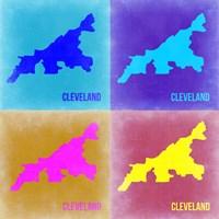 Cleveland Pop Art Map 2 Fine-Art Print
