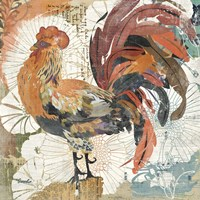 Rooster Flair II Fine-Art Print