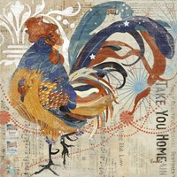 Rooster Flair IV Fine-Art Print
