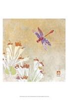 Dragonfly Lustre I Fine-Art Print