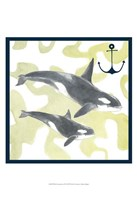 Whale Composition III Fine-Art Print