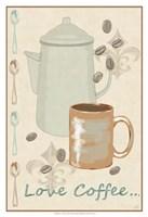 Love Coffee Fine-Art Print