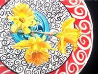 Flower on Plate II Fine-Art Print