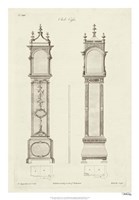 Chippendale Clock Cases I Fine-Art Print
