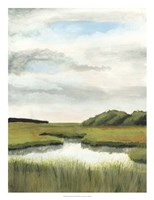 Marsh Landscapes II Fine-Art Print