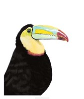 Watercolor Toucan Fine-Art Print