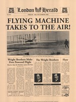 Flying Machine Takes to the Air! Fine-Art Print