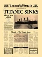 Titanic Sinks Fine-Art Print