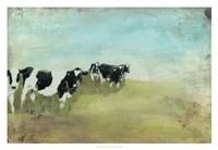 Country Drive Cows II Fine-Art Print
