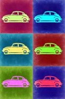 VW Beetle Pop Art 2 Fine-Art Print