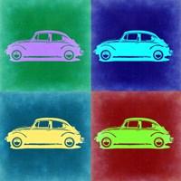 VW Beetle Pop Art 3 Fine-Art Print