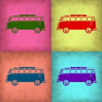 VW Bus Pop Art 1 Fine-Art Print
