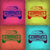Chevy Camaro Pop Art 1 Fine-Art Print