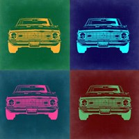 Chevy Camaro Pop Art 2 Fine-Art Print