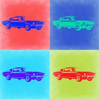 Ford Mustang Pop Art 2 Fine-Art Print