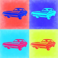 Dodge Charger Pop Art 2 Fine-Art Print