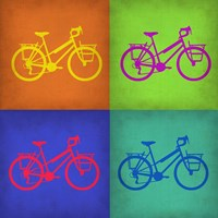 Vintage Bicycle Pop Art 1 Fine-Art Print