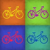 Vintage Bicycle Pop Art 1 Fine-Art Print