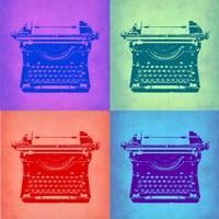 Vintage Typewriter Pop Art 2 Fine-Art Print