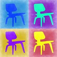 Eames Chair Pop Art 4 Fine-Art Print