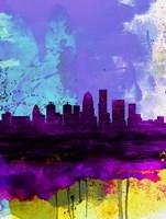 Louisville Watercolor Skyline Fine-Art Print