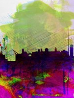 Dublin Watercolor Skyline Fine-Art Print
