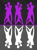 Purple and White Dance Fine-Art Print