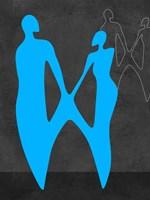 Blue Couple Fine-Art Print