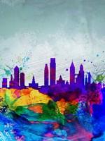 Philadelphia Watercolor Skyline Fine-Art Print