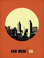 San Diego Circle 2 Fine-Art Print