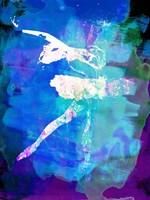 White Ballerina Watercolor Fine-Art Print