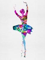 Ballerina Watercolor 1 Fine-Art Print