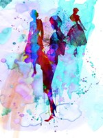 Fashion Models 7 Fine-Art Print