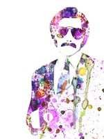 Anchorman Watercolor 1 Fine-Art Print