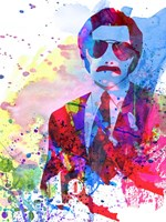 Anchorman Watercolor 2 Fine-Art Print