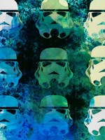 Star Warriors Watercolor 1 Fine-Art Print