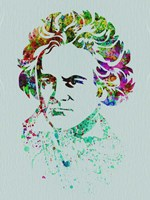 Beethoven Watercolor Fine-Art Print