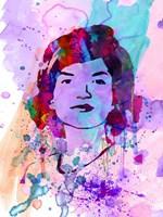 Jackie Kennedy Watercolor Fine-Art Print