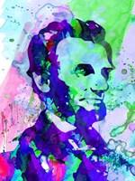 Lincoln Watercolor Fine-Art Print