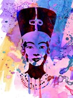 Nefertiti Watercolor Fine-Art Print