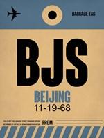 BJS Beijing Luggage Tag 2 Fine-Art Print