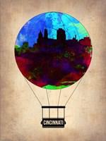 Cincinnati  Air Balloon Fine-Art Print