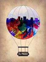 El Paseo Air Balloon Fine-Art Print