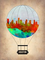 Houston Air Balloon Fine-Art Print