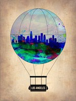 Los Angeles Air Balloon Fine-Art Print