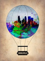 Minneapolis Air Balloon Fine-Art Print