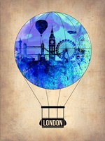 London Air Balloon Fine-Art Print
