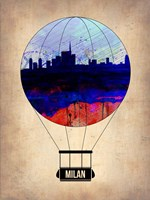 Milan Air Balloon Fine-Art Print